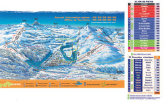 Arette-La Pierre St. Martin Ski Trail Map