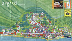 Argassi Tourist Map