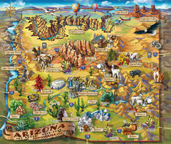 Arizona Fun Map