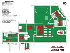 Arkansas State University-Beebe Campus Map