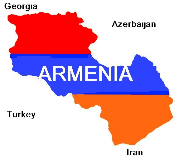 Armenia Map Armenia Mappery - Armenia map