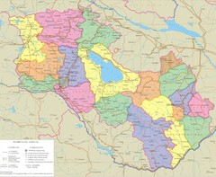 Armenia & Karabakh Map