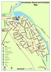 Arrowtown Street Map