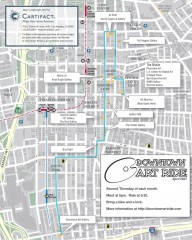 Artride Bicycle Map of Museums and Galleries