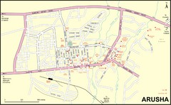 Arusha Town Map