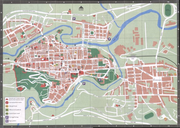 Ascoli Piceno city map Ascoli Piceno Italy mappery