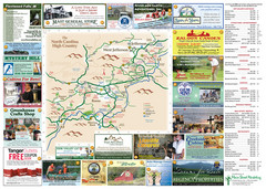 Ashe County Attractions Map