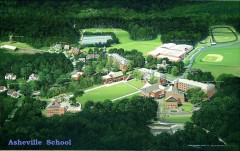 Asheville School Campus map