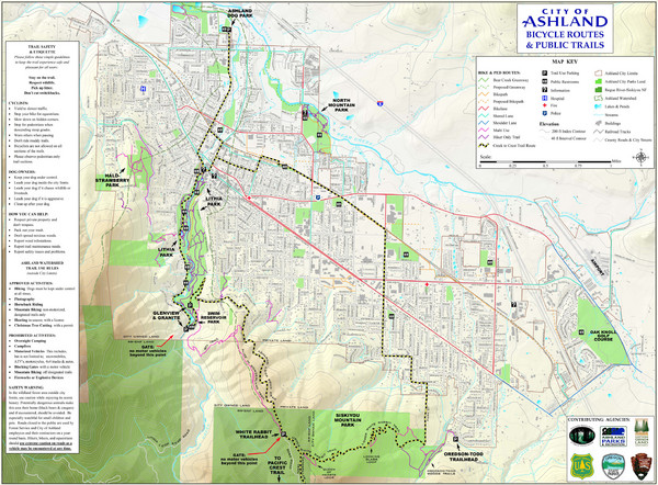 Ashland Trails Map