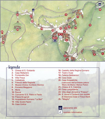 Asolo Town Map