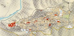Assisi Tourist Map