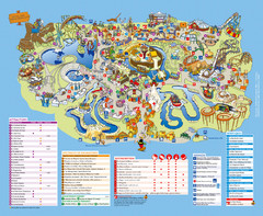 Asterix Park Map