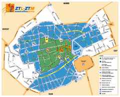 Asti Traffic Zone Map