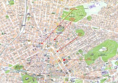 Athens Center Map