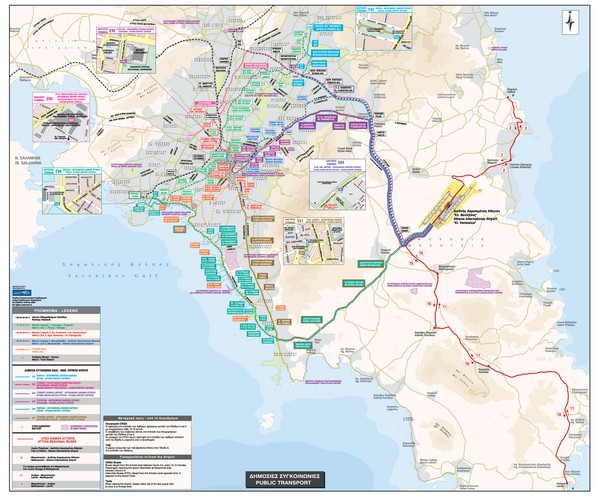 Athens public transportation map athens greece mappery fullsize athens public transportation map gumiabroncs Choice Image