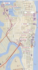 Atlantic City Tourist Map