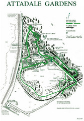 Attadale Gardens Map