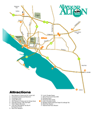 Attractions in Alton, Illinois Map