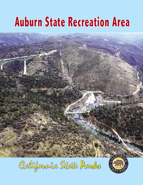 Auburn State Recreation Area Map