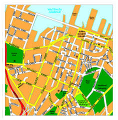 Auckland City Map