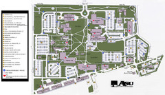 Augusta State University Map