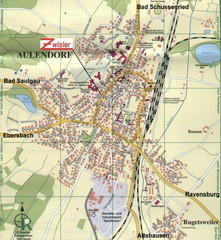 Aulendorf Map