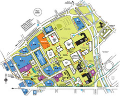 Auraria Campus Map