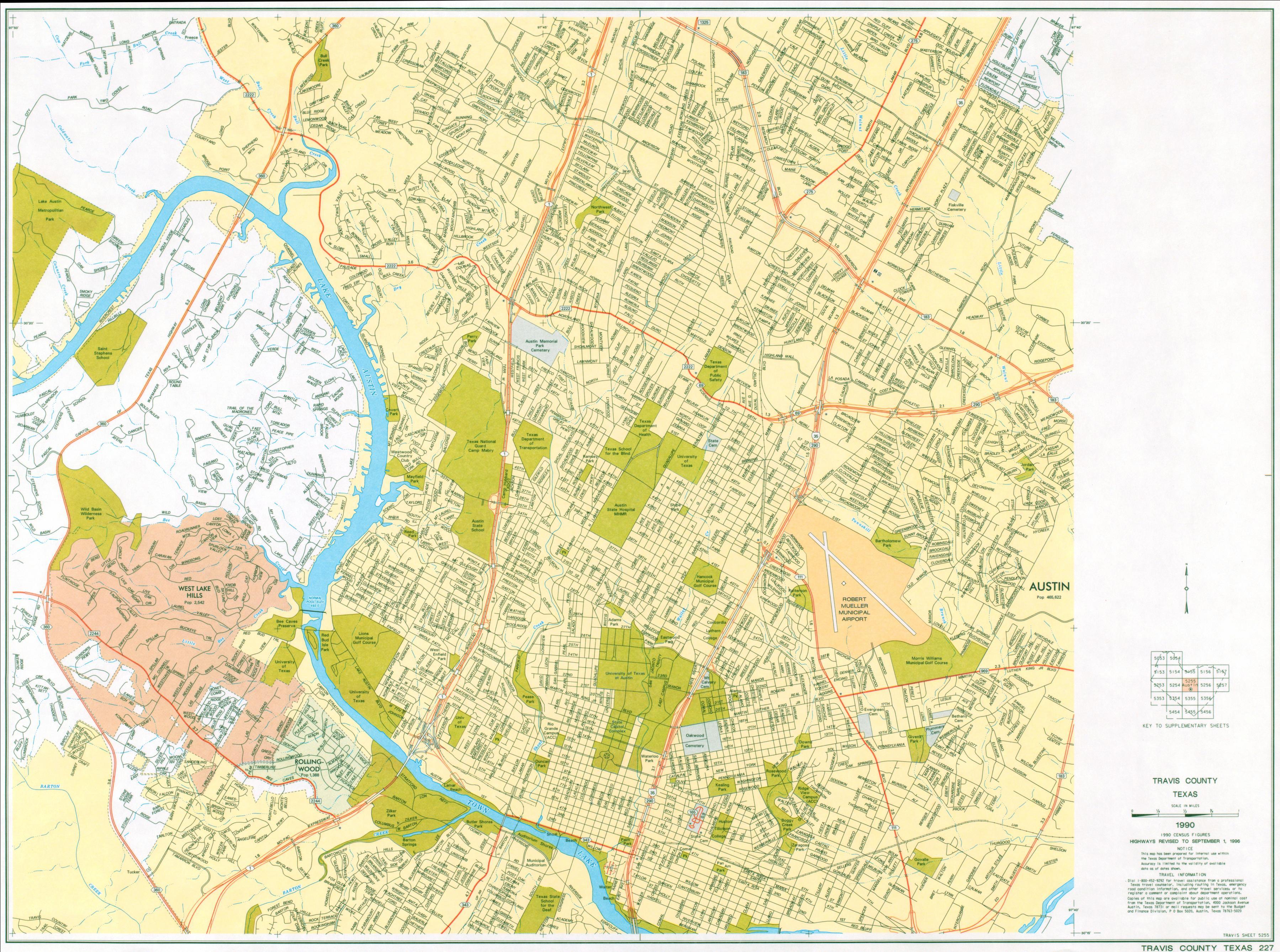 Austin City Map  Austin Texas  Mappery