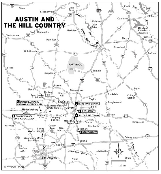 real life map collection mappery – Tourist Attractions Map In Austin