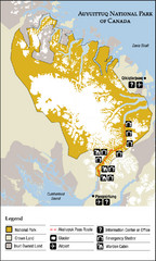 Auyuittuq National Park Map