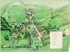 Avebury Tourist Map