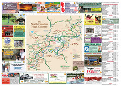 Avery County Attractions Map