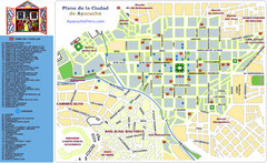 Ayacucho Tourist Map