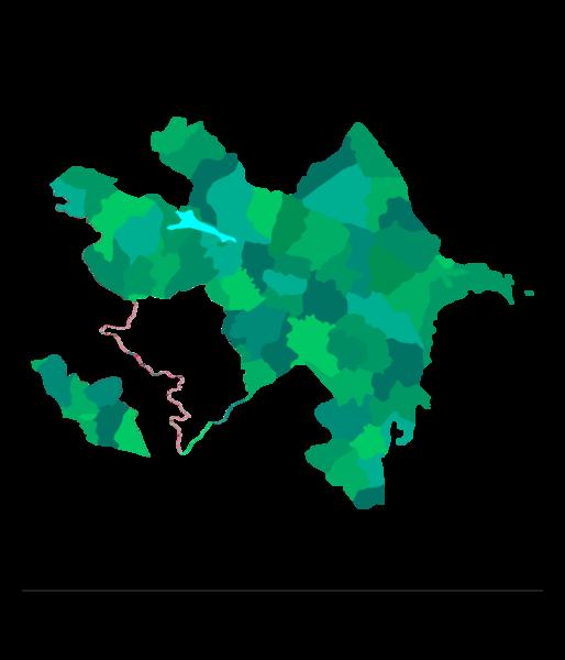 Azerbaijan maps mappery