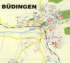 Büdingen Map