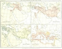 Babylon Persian Greek Roman Empires Map