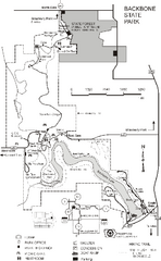 Backbone State Park Map