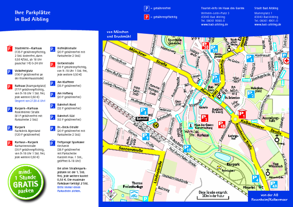 fullsize bad aibling tourist map
