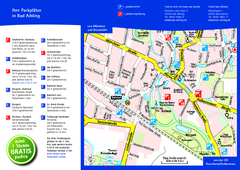 Bad Aibling Tourist Map