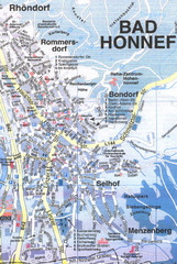 Bad Honnef Map
