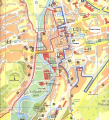 Bad Kissingen Tourist Map