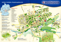 Bad Konigshofen Toursit Map