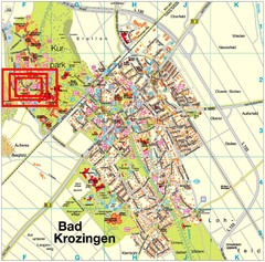 Bad Krozingen Map