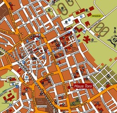 Bad Saulgau Tourist Map