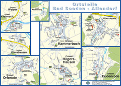 Bad Sooden-Allendorf Towns Map