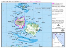 Badu Island Land Use Map