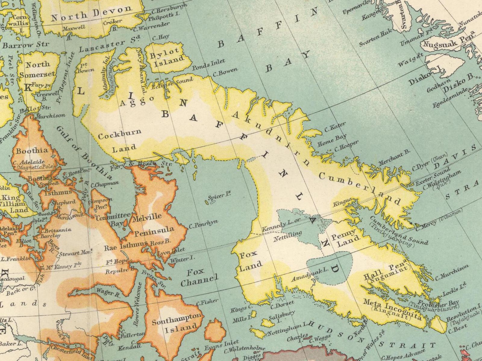 Islands Of Canada Map.Map Of Canada Islands Canada Map Baffin Island Canada Map Arctic