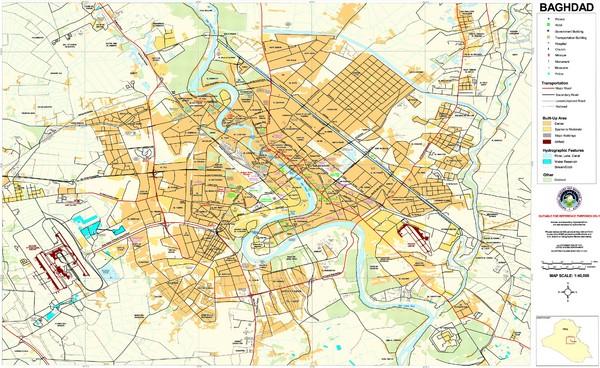 Iraq maps mappery