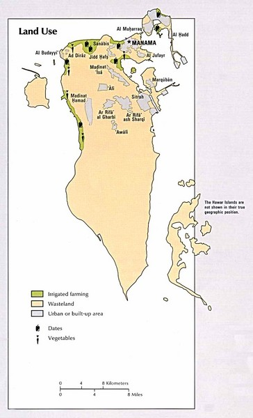 Bahrain Land Use Map