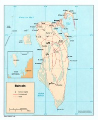 Bahrain Overview Map